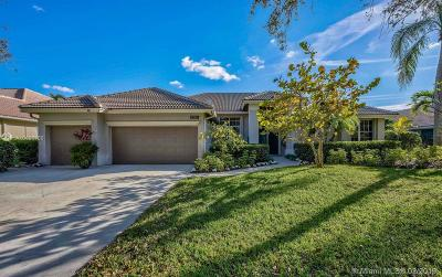 Jupiter Single Family Home For Sale: 6780 Cypress Cove Cir