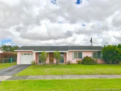Miami FL Single Family Home For Sale: $374,900