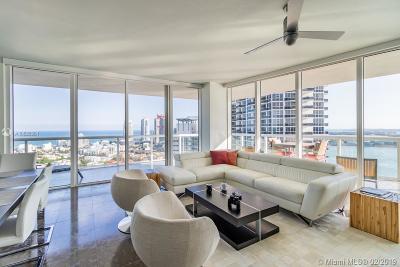 Miami Beach Rental Leased: 450 Alton Rd #2707
