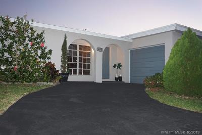 Sunrise Single Family Home For Sale: 11370 NW 32nd Mnr