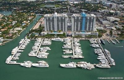 Miami Beach Rental For Rent: 1800 Sunset Harbour Dr #1605