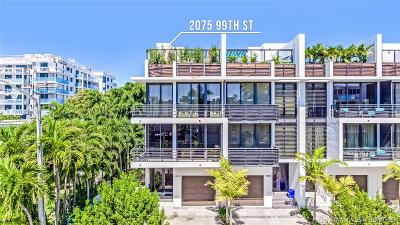 Bay Harbor Islands Condo For Sale: 1075 99th St #1075