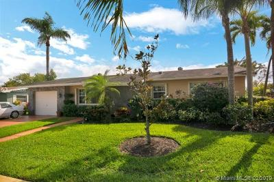 Pembroke Pines Single Family Home Sold: 1721 NW 111th Ter