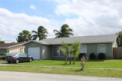 Sunrise Single Family Home For Sale: 11630 NW 32nd Mnr