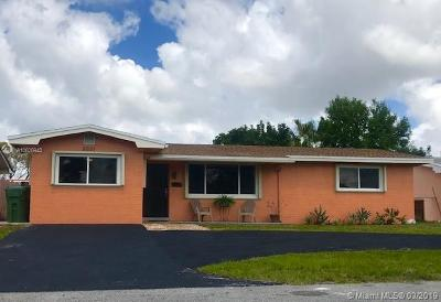 Pembroke Pines Single Family Home Sold: 8821 NW 11th Street