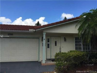 Coral Springs Single Family Home For Sale: 3780 NW 79th Ave