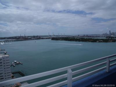 Miami Beach Rental For Rent: 1330 West Ave #2306