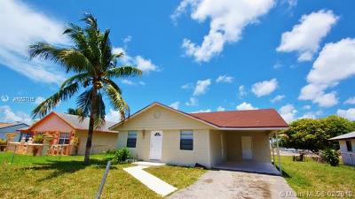 Pompano Beach Single Family Home For Sale: 741 NW 15th Pl
