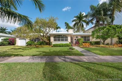 Coral Gables Single Family Home Sold: 919 Tendilla Ave