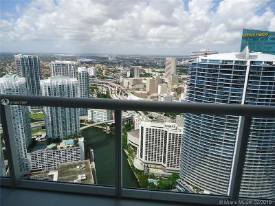 Miami Rental For Rent: 465 Brickell Ave #5606