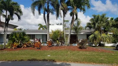 Pinecrest Single Family Home For Sale: 6925 SW 107 St