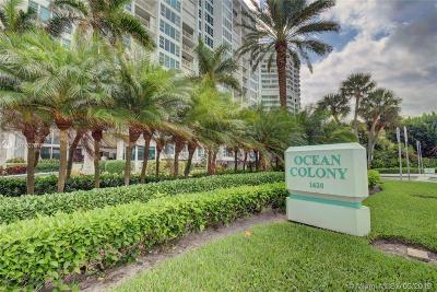 Lauderdale By The Sea Condo For Sale: 1620 S Ocean Blvd #9H