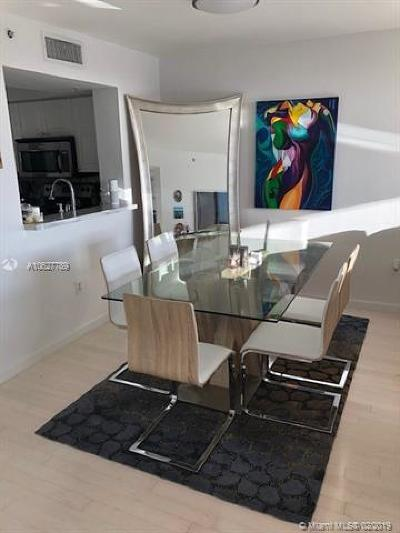 Miami Beach Rental For Rent: 1800 Sunset Harbour Dr #1505