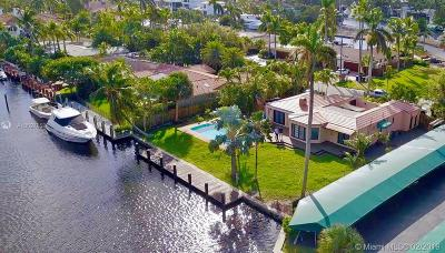 Fort Lauderdale Single Family Home For Sale: 314 Isle Of Capri Dr