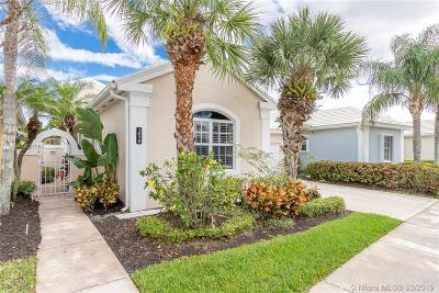 West Palm Beach FL Single Family Home Active With Contract: $339,000