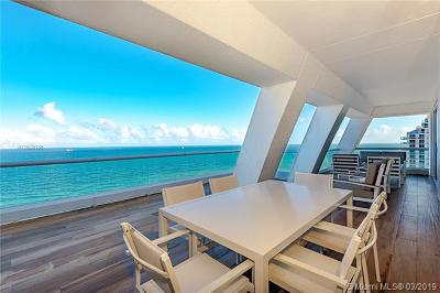 Fort Lauderdale Condo For Sale: 551 N Fort Lauderdale Beach Blvd #R1916