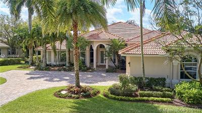 Weston Single Family Home For Sale: 2453 Poinciana Dr