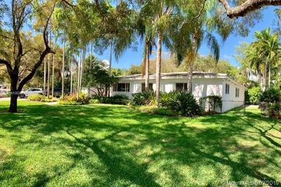 Coral Gables Single Family Home For Sale: 1225 Manati Ave