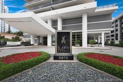 Miami Beach Condo For Sale: 5875 Collins Ave #1406