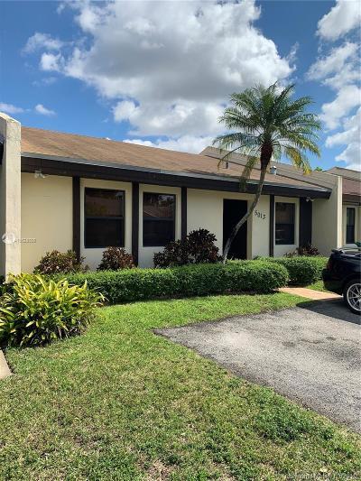 Miami Condo For Sale: 5013 SW 139 Place