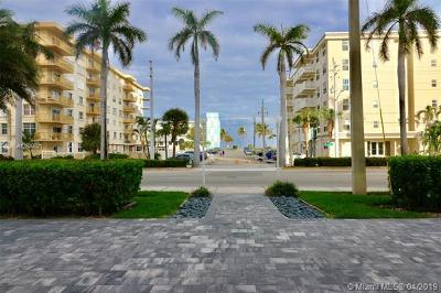Hollywood Condo For Sale: 1500 S Ocean Dr #2J