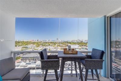 Miami Beach Rental Leased: 1800 Sunset Harbour Dr #1707