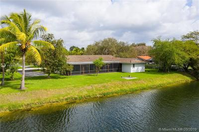 Pinecrest Single Family Home For Sale: 7100 SW 109th Ter