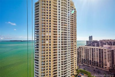 Rental Leased: 848 Brickell Key Dr #2301