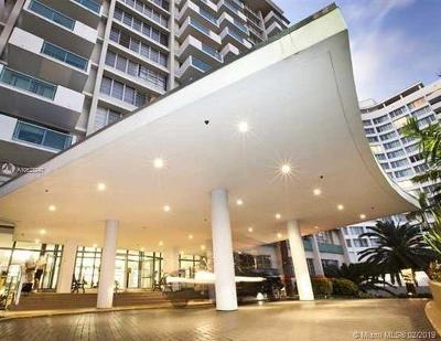 Miami Beach Condo For Sale: 1000 West Ave #619