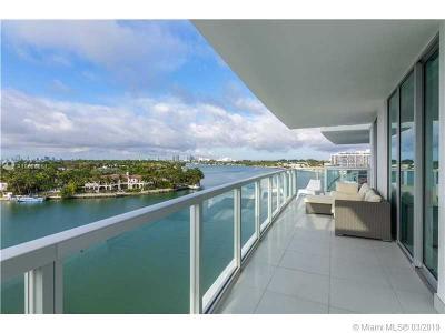 Miami Beach Condo For Sale: 6700 Indian Creek Dr #806