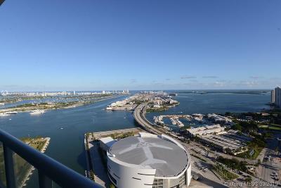 Marina Blue, Marina Blue Condo, Marina Blue Condominium, Marinablue, Marinablue Condo Rental For Rent: 888 E Biscayne Blvd #4604