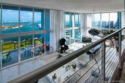 Coconut Grove, Coral Gables, Key Biscayne, Miami, Pinecrest Condo For Sale: 1040 Biscayne Blvd #PH4602