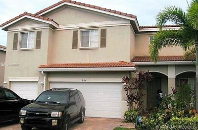 Miami Gardens Single Family Home Active With Contract: 1244 NW 204th St