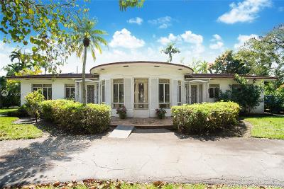 Coral Gables Single Family Home For Sale: 1212 Alhambra Cir