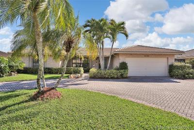 Coral Springs Single Family Home Active With Contract: 8480 NW 2nd St