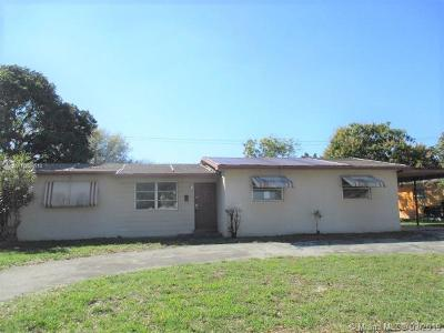 Plantation Single Family Home Sold: 415 NW 46th Ave