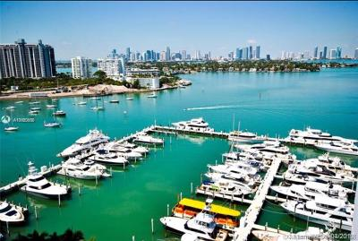 Miami Beach Rental Leased: 1900 Sunset Harbour Dr #1714