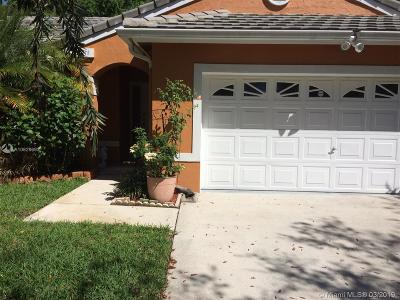 Miramar Single Family Home Active With Contract: 12411 SW 18th St
