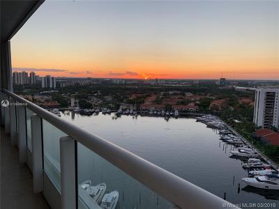 Aventura Condo For Sale: 21055 Yacht Club Dr #2007