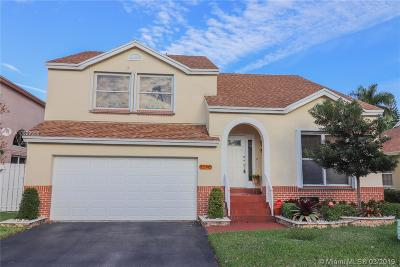 Davie Single Family Home Active With Contract: 1170 SW 109th Ln