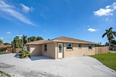 Miramar Single Family Home For Sale: 6971 SW 23rd St