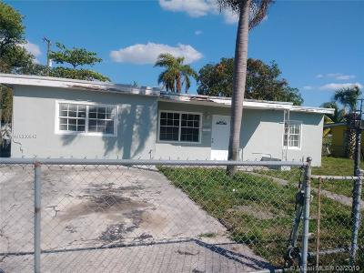 Miami Gardens Single Family Home Active With Contract: 16521 NW 19th Ct