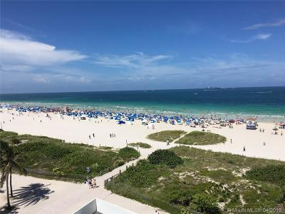 Miami Beach Condo For Sale: 465 Ocean Dr #818