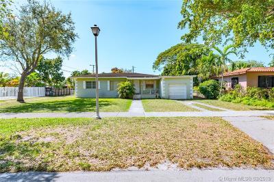 Miami Springs Single Family Home Sold: 210 Albatross St
