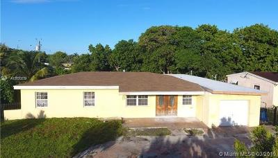 Miami Gardens Single Family Home For Sale: 19220 NW 6th Ave