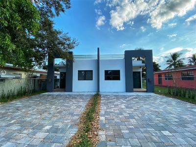 North Miami Multi Family Home For Sale: 1218-1216 NE 112 St