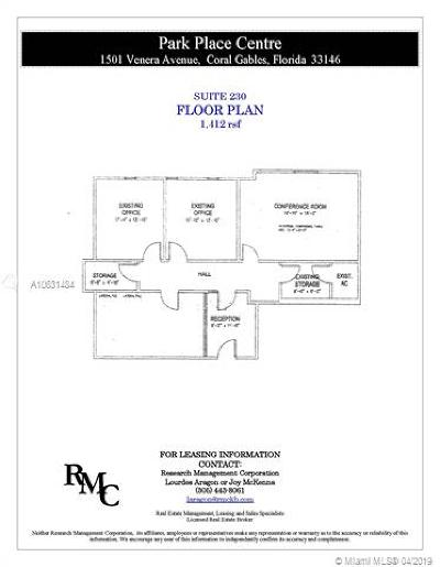 Coral Gables Commercial For Sale: 1501 Venera Ave