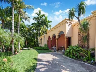 Key Biscayne Single Family Home For Sale: 365 Harbor Ct