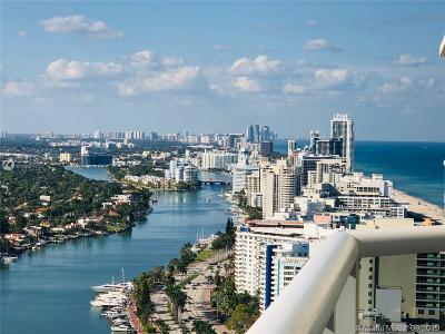Miami Beach Condo For Sale: 4779 Collins Ave #3806