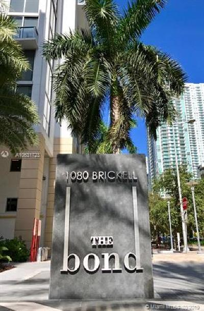 The Bond, The Bond (1080 Brickell), The Bondo (1080 Brickell), The Bond On Brickell, Bond 1080 Brickell Condo For Sale: 1080 Brickell Ave #3907